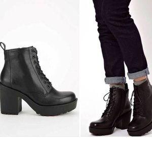 Vagabond Libby lace up boots